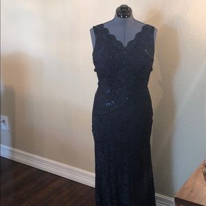 Lace and Sequin Special Occassion Dress